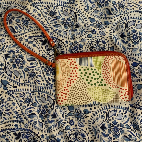 🔵 5 for $25 Fossil wristlet